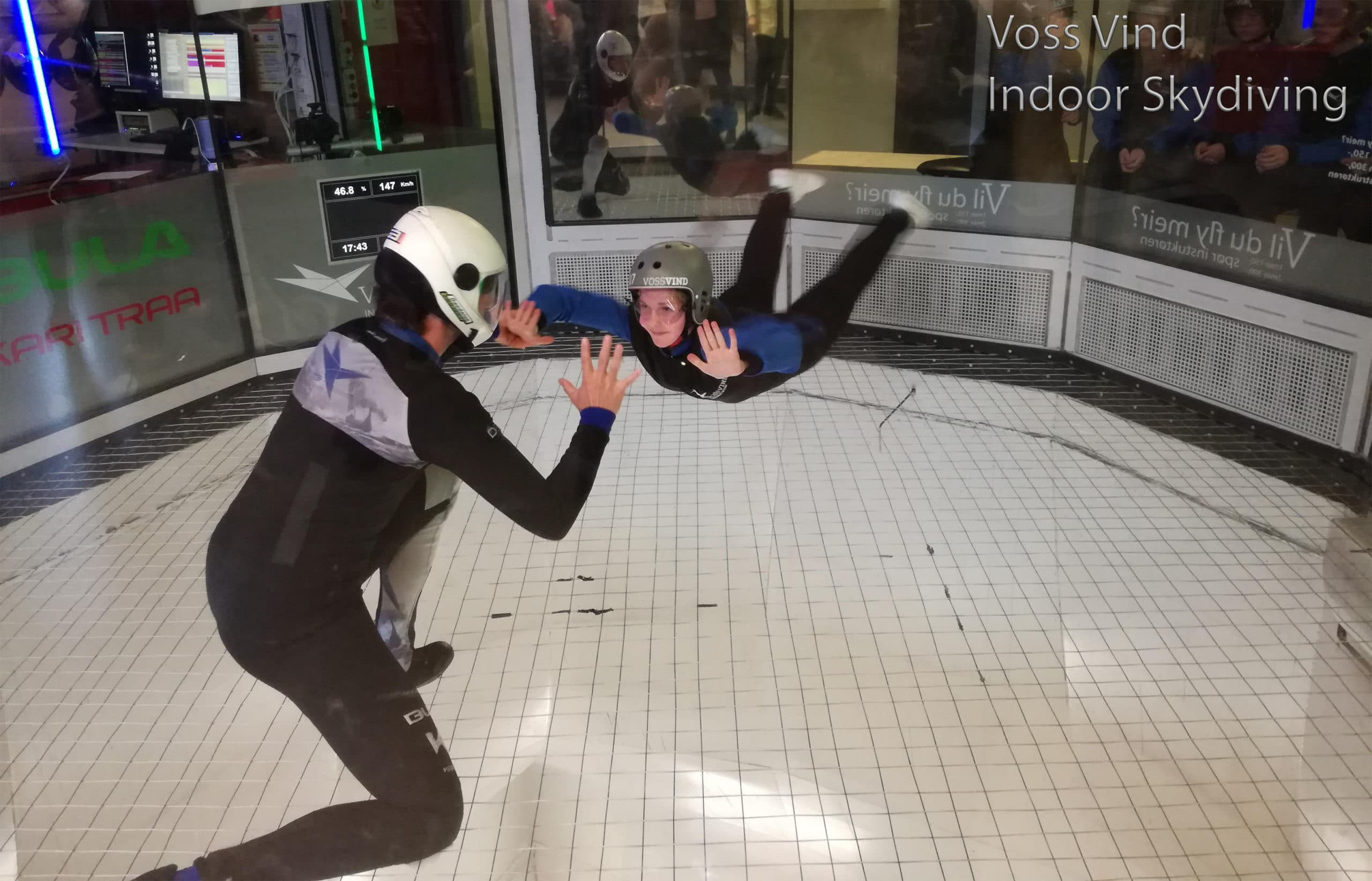 Indoor skydiving centre