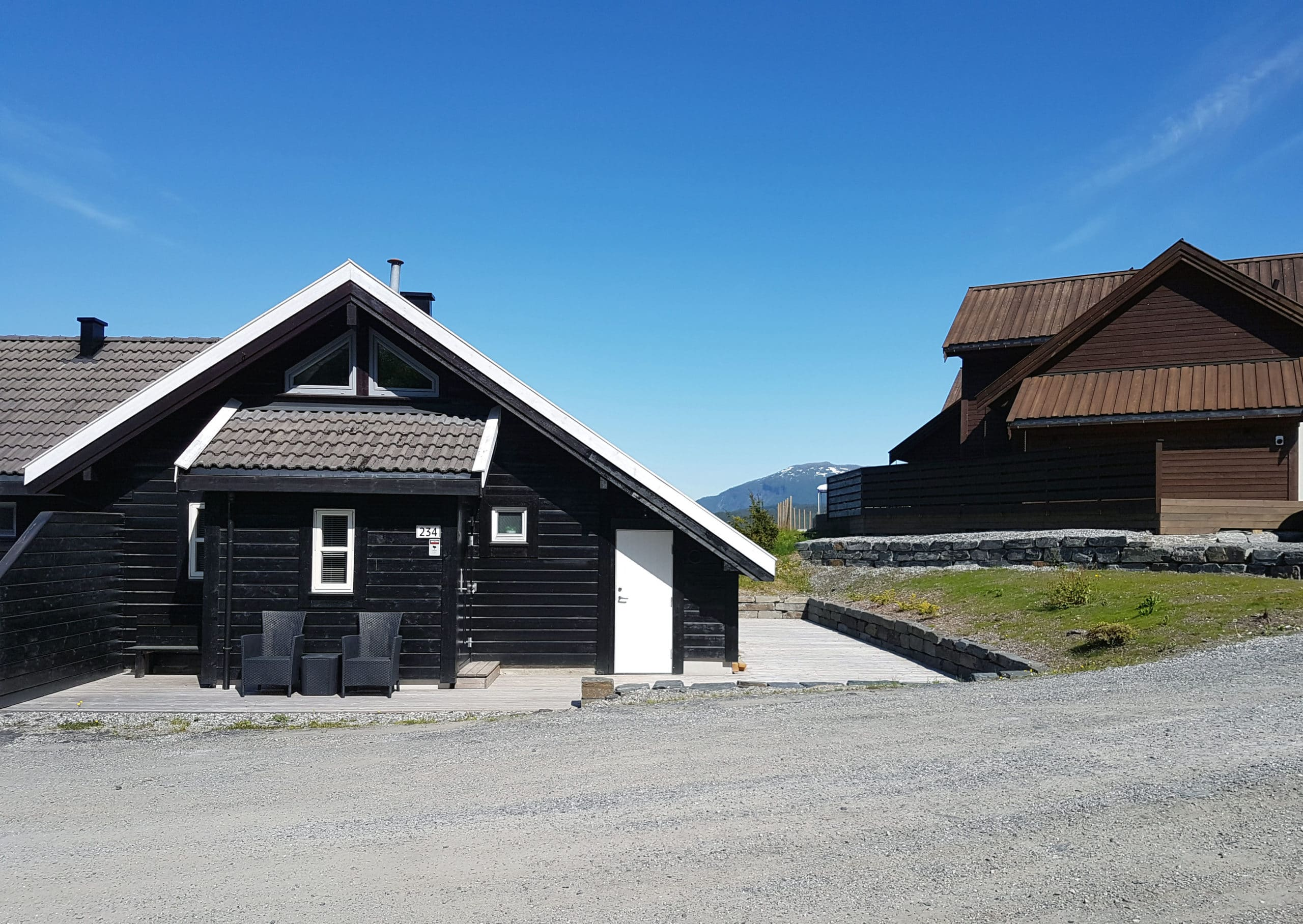 Vossahytten Entrance Summer
